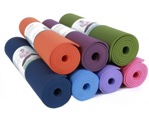 Single Layer TPE Yoga Mat