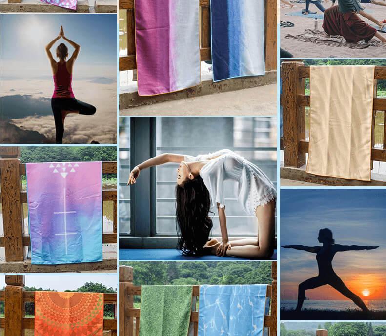 Printed Yoga Towel 10