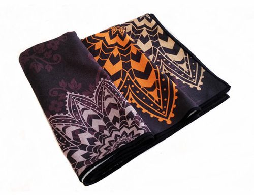 Trendy Style Printed Yoga Towel