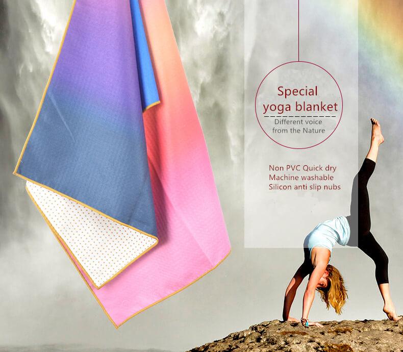 Printed Yoga Towel 6