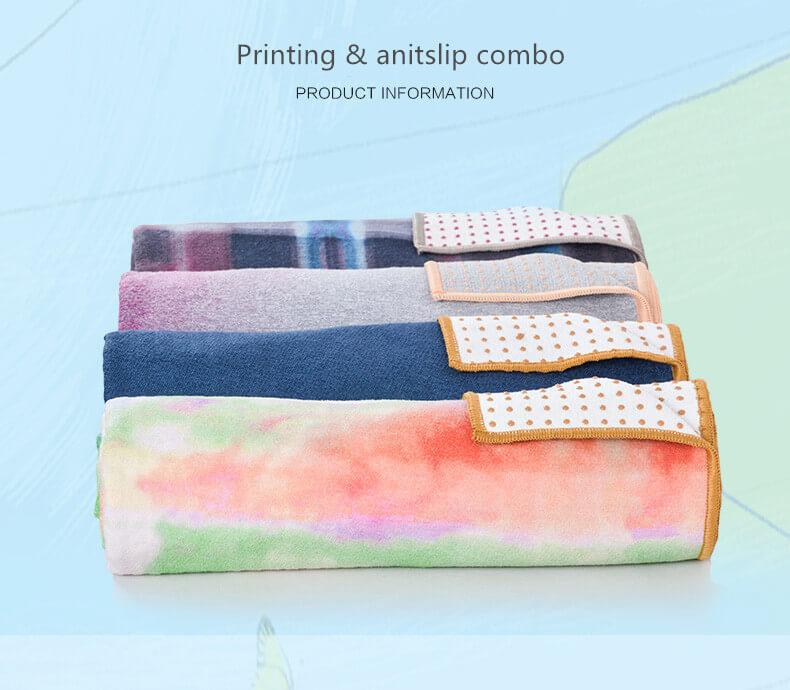 Printed Yoga Towel 8