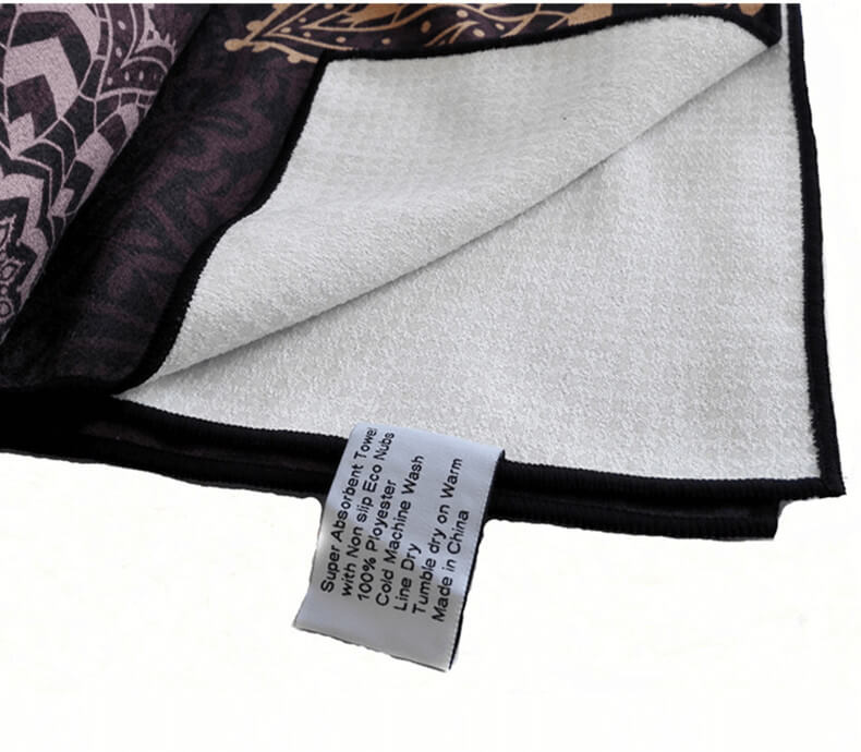 Printed Yoga Towel 9