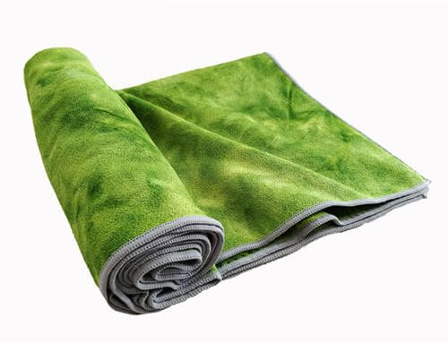 Tie Dye Yoga Mat Towel