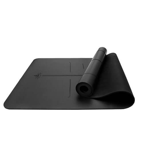 PU rubber yoga mat 1