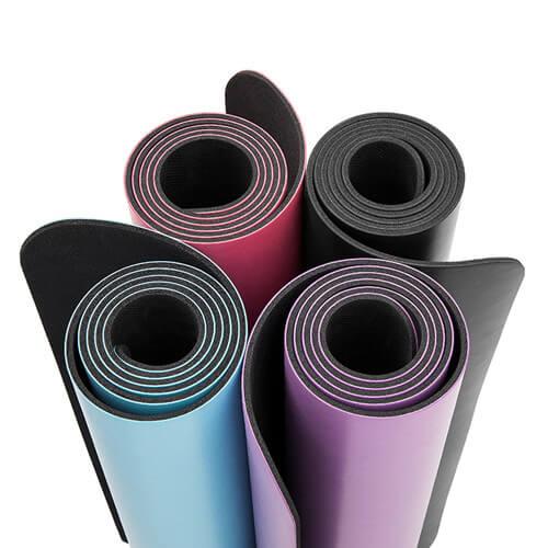PU rubber yoga mat 5