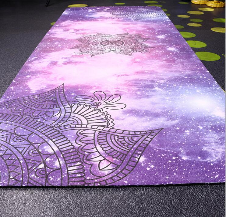 Suede Yoga Mat Iyogatowel