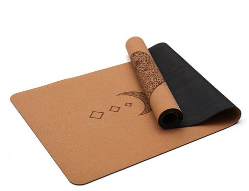 Cork Rubber Yoga Mat