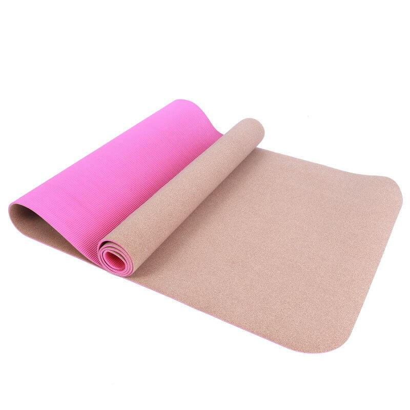 Cork TPE Yoga Mat 2