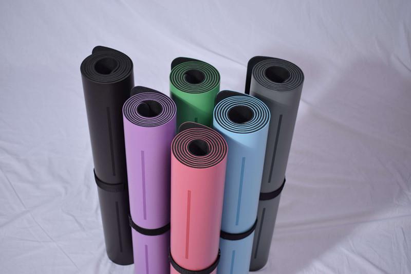 Laser Engraving Pu Yoga Mat Iyogatowel