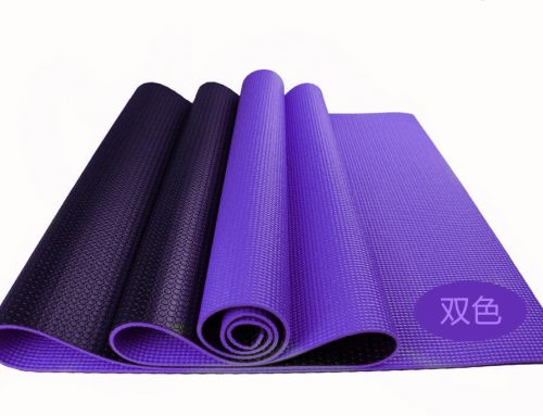Two Tone PVC Yoga Mat