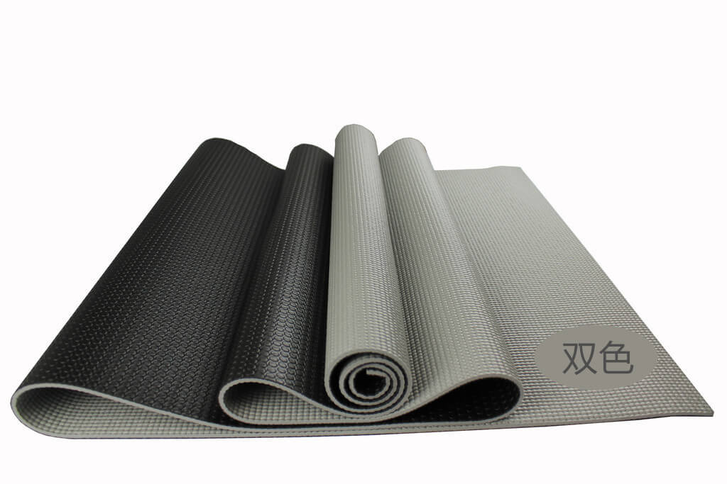 Two Tone Pvc Yoga Mat Iyogatowel