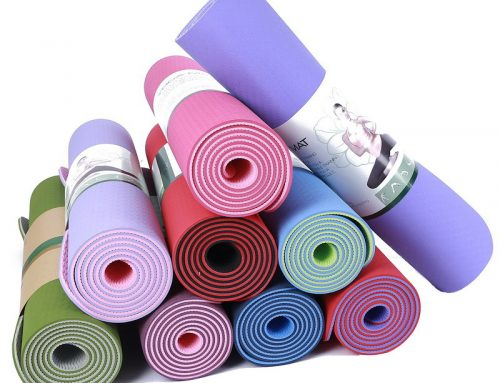 Two Tone TPE Yoga Mat